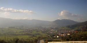 Vista del valle de Sámano