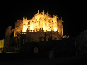 Vista nocturna de Sta. María