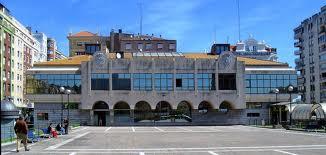 La estación de autobuses de Santander.