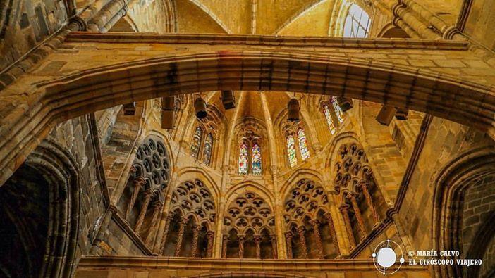 Interior De la Iglesia de Santa María de la Asunción- ©María Calvo.