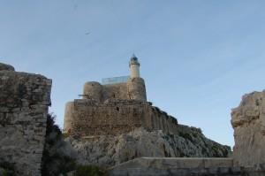 Vista del Castillo-faro