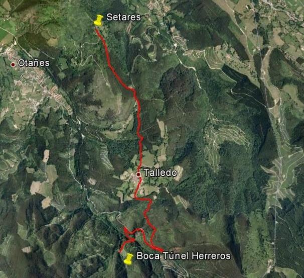 Ruta 2 Túnel de Herreros – Setares
