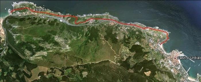 Ruta 5 Castro Urdiales – Islares (puerto)
