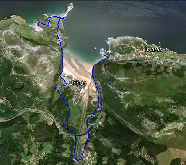Mapa de la ruta 6