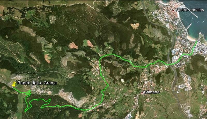 Ruta 7 Castro Urdiales – Alto de la Granja