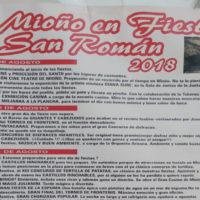 Programa de Fiestas de Mioño – San Román 2018