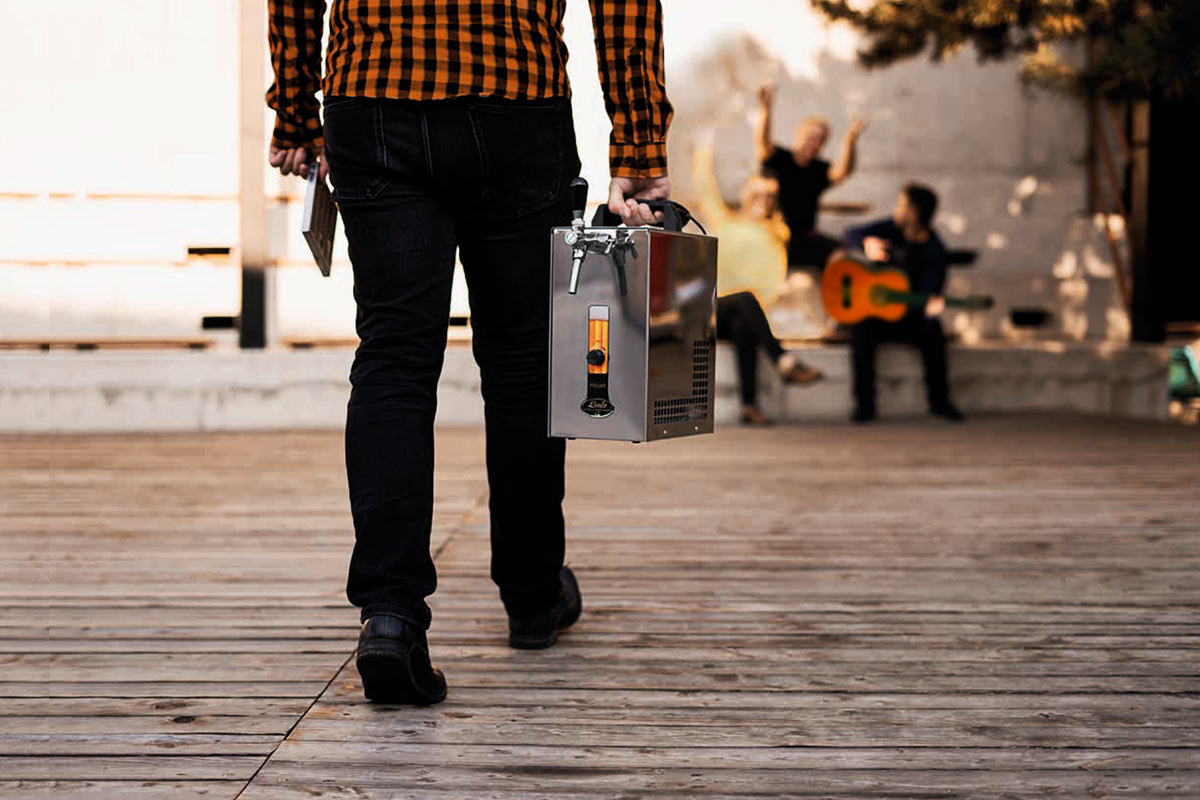Alquiler de tirador de cerveza artesanal para eventos y fiestas.